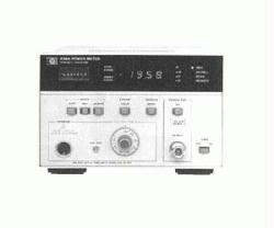 HP/AGILENT 436A/2 POWER METER, INPUT ON REAR AND FRONT PANELS
